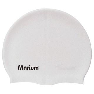 """""""小金豬""""marium素色矽膠泳帽"""