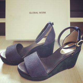Global Work厚底涼鞋