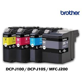 Brother】原廠 LC539 + LC535 墨水匣 XL 大容量 DCP-J100 J105 MFC-J200