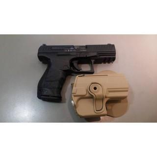 【PM軍品】全新 II 沙色 IMI真品快拔槍套適用最新警用配槍Walther PPQ M1 M2可用