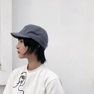 復古短帽沿,帽緣棒球帽,馬術帽,鴨舌帽,歐美,韓