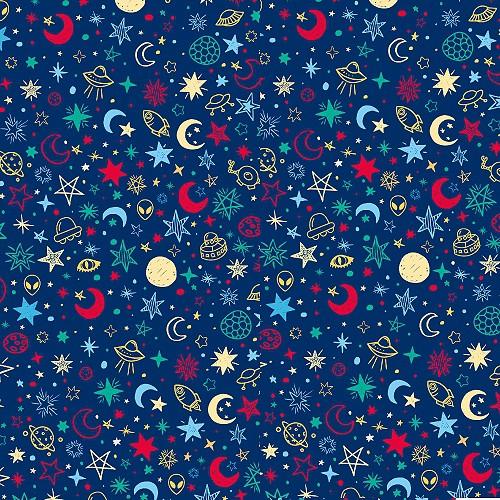 C4218~花紋紙~宇宙小行星 A4 180P 1包25張 單面 當背景、打孔器創作素材