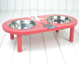 Gaspard&Lisa兩段式護脊架高碗食盆碗架水盆犬貓狗碗寵物餐桌兩用架寵物餐具『Lovely』附雙碗499元