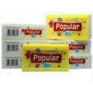 【10元的店】現貨特價運費半價優惠方案印尼製Popular肥皂/天然棕櫚油香皂/泡辣去污皂/去汙皂~洗臉沐浴洗衣多用皂