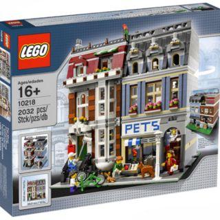 樂高 lego 10218 creator 街景 寵物店 全新未開 現貨 lego10218