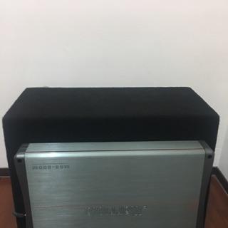 ALPINE主機+主動式重低音箱
