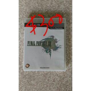 PS3遊戲光碟-FF13(日文版)