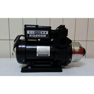 KQ200N,木川家用穩壓加壓馬達 , 1/4馬力 110/220伏特電壓。