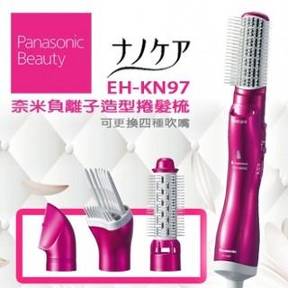 [二手良品] 日本帶回 Panasonic EH-KN97 奈米水離子 整髮器 桃紅色款