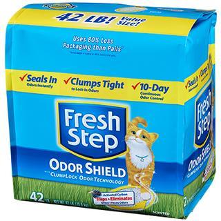 菲麗思 fresh step 強效清香貓砂 42磅 42lb 強效型 藍鑽 ever clean