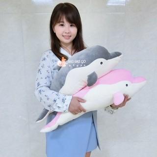 海豚娃娃~海洋動物娃娃~大海豚娃娃~可愛海豚娃娃~海豚玩偶
