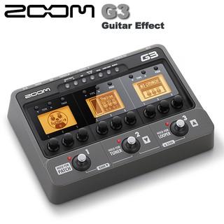 ►Zoom G3 電吉他地板綜合效果器/ZOOM的音箱模擬器融合了單顆效果器/贈變壓器