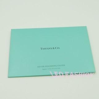 【LEO FASHION】全新 Tiffany & Co. 2017最新款專櫃拭銀布 擦銀布 貴金屬珠寶專用