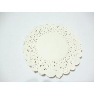 包裝小物 圓形蕾絲紙墊D款4.5寸直徑11cm蛋糕紙 蕾絲紙 花邊紙墊 壓花 拍照 道具 zakka 雜貨~幸福生活館