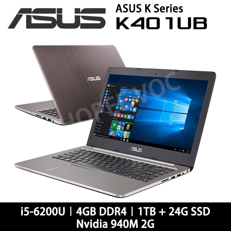 ASUS K401UB K401UB-0022A6200U i5/1T+24G SSD/940M 2G 14吋輕薄機
