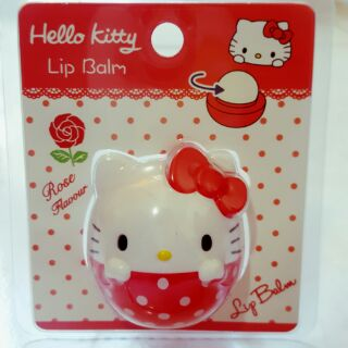 Hello Kitty 玫瑰紅護唇球