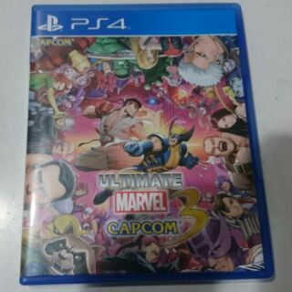 PS4 漫威 VS 卡普空 3 終極版 ultimate marvel vs capcom 3 UMVC3