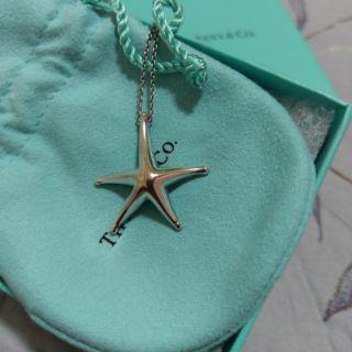 Tiffany&Co.海星型項鍊