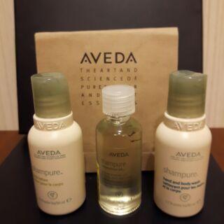 AVEDA沐浴/潤膚/護理油(旅行組合價)