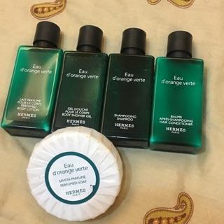 愛馬仕 HERMES 旅行用 沐浴 洗髮 身體乳 肥皂
