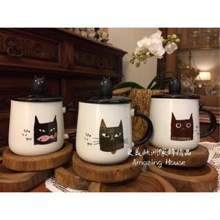更美歐州家飾精品Amazig House美國Royal Duke皇家公爵貓咪蓋杯 奶茶杯咖啡杯  禮物