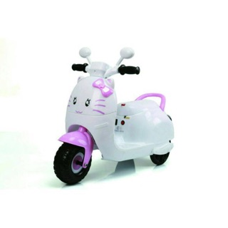 甜心喵喵速克達兒童電動車達可達兒童玩具車電動摩托車三輪車電動機車 (類HELLO KITTY凱蒂貓)