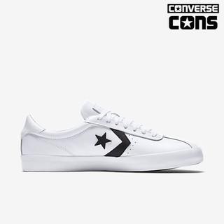 Converse Break Point 休閒鞋 157777C 運動鞋 白色 低筒 皮革 男女 百搭