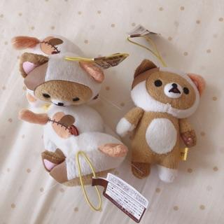 現貨❤️日本帶回,夾娃娃景品,拉拉熊貓咪裝小娃娃吊飾