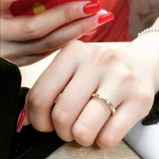 Tiffany&Co. 超美11顆整圈鑽18k鑽戒