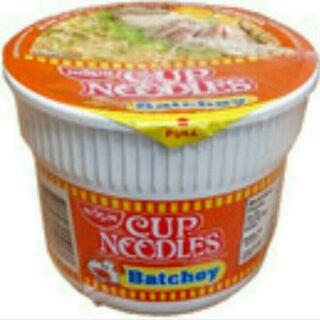 菲律賓 日清杯麵 cup noodles 豬肉風味/1杯