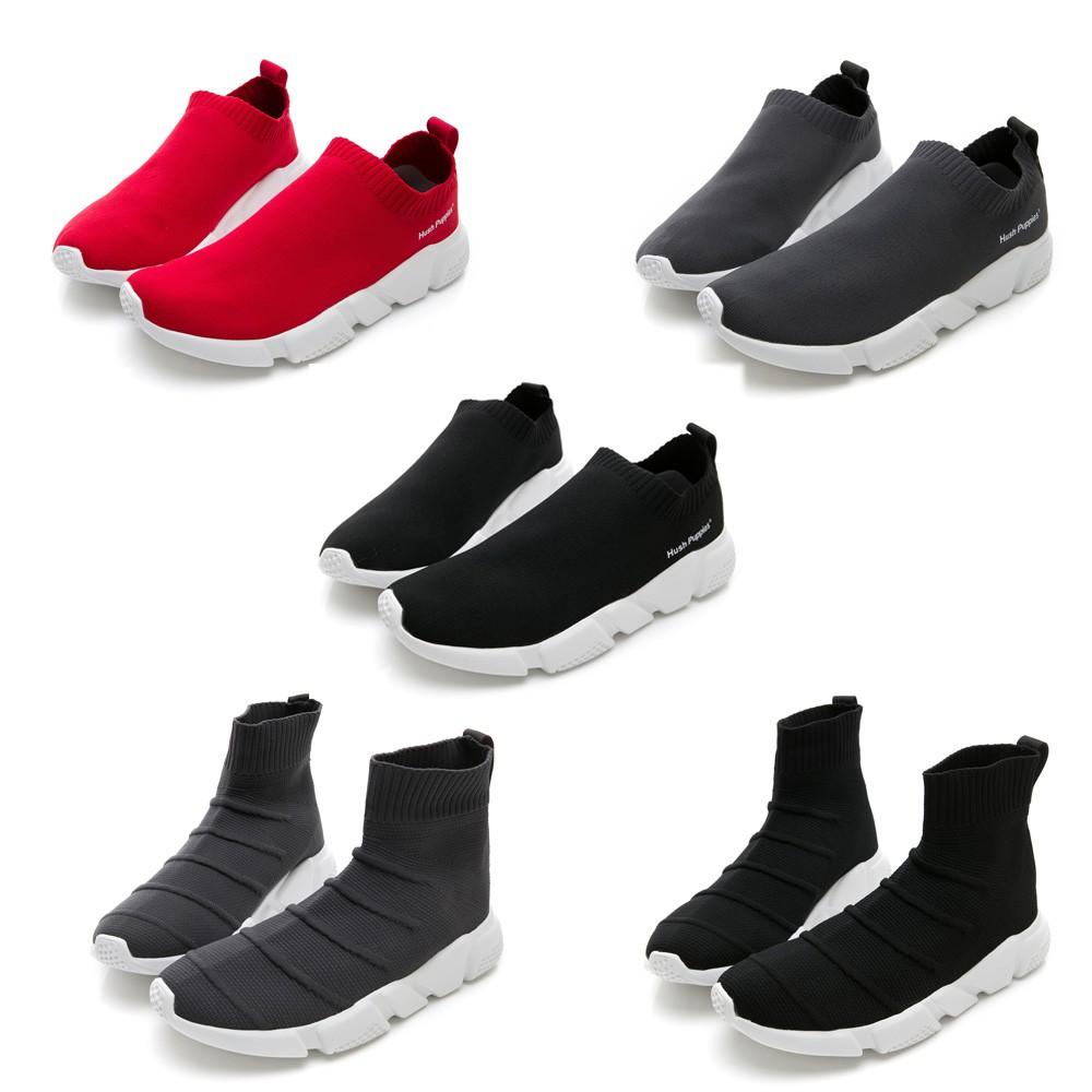 Hush Puppies 襪套針織休閒鞋-5款任選
