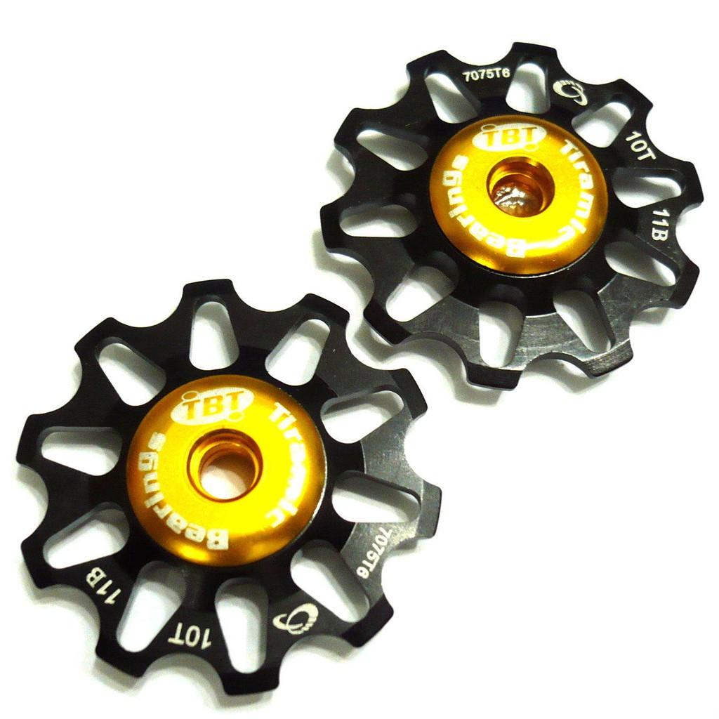 【vsmart】TOKEN TK1701TBT 變速導輪 10T 鍍鈦陶瓷培林 Campagnolo相容 黑 Z44