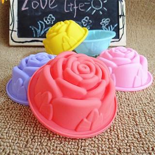(S75)Acat Zakka~8CM玫瑰模具 果凍布丁模 蛋糕馬芬模 巧克力模 手工皂模 蠟燭模 黏土模