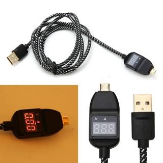 Mirco USB 電流電壓顯示充電線