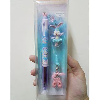 史黛拉 史黛拉筆 達菲系列 日本迪士尼園區 史黛拉三色筆