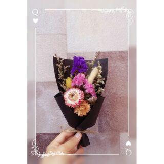 椿camellia 清新 乾燥花束