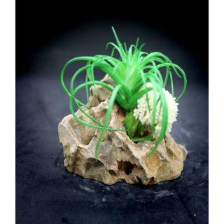 【彩虹騎士】【小缸造景】一個就搞定,您的魚缸可以有無限創意,咕咾石石材仿真水草,魚缸, 裝飾,底砂