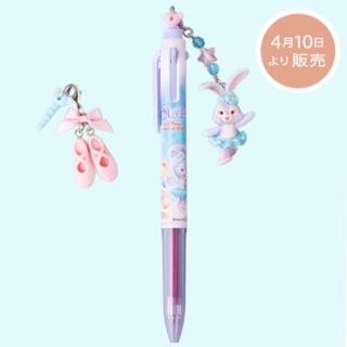 (限定) 2017日本海洋迪士尼 史黛拉兔 三色原子筆