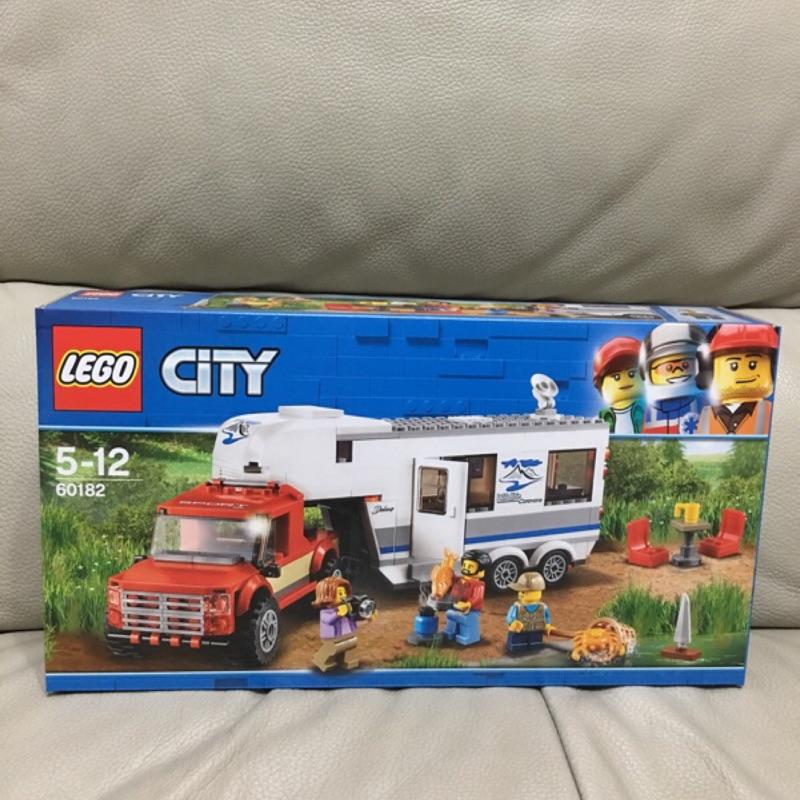 樂高 LEGO 60182 CITY 城市系列 皮卡車及露營車