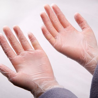 馬大帥食品級一次性PVC手套/廚房家務牙科醫用透明手套防靜電防油