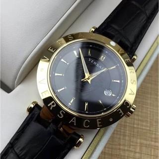 (元素)全新原裝專櫃正品 versace 凡賽斯 范思哲 23Q 石英男錶