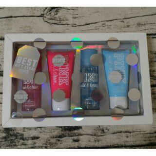 Victoria's Secret 維多利亞的秘密 PINK  身體乳液  香氛噴霧 香水噴霧 禮盒組