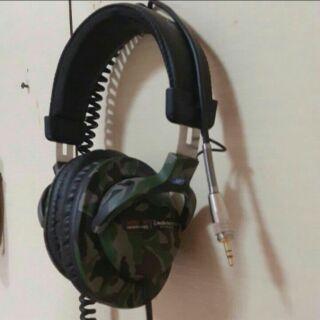 鐵三角Audio-Technica監聽耳機PRO5MK2迷彩