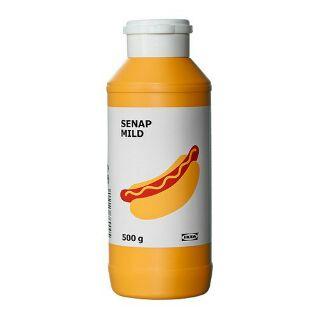 IKEA SENAP MILD蕃茄醬/淡味芥末醬 0.5 公斤