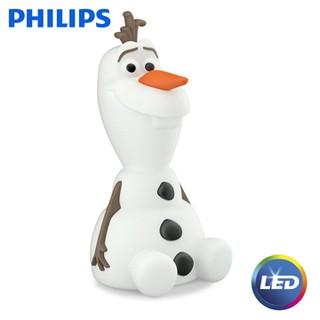 PHILIPS飛利浦 71768 Disney迪士尼-LED可攜式床邊燈 - 雪寶