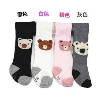 *現貨*女童秋冬嬰幼童小熊褲襪