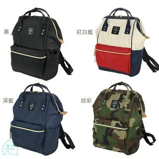 ✧查米✧  正品Anello 多 雙肩後背包2way 包超大容量 款尼龍防潑水 深藍、黑、