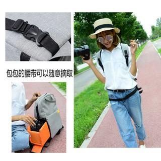 【小花】抽屜式多功能相機背包 多功能相機包 旅行包 後背包 外出包 雙肩包