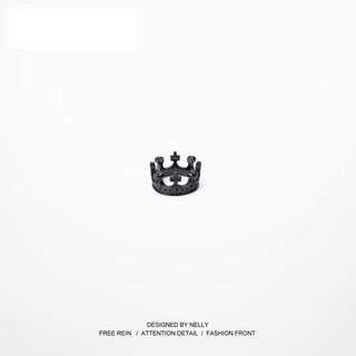 【Reborn潮館】日韓潮牌GD戒指男 皇冠嘻哈街舞滑板死飛指環歐美個性復古戒子