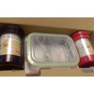 密扣玻璃保鮮盒+密封罐